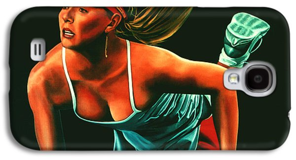 Maria Sharapova  Galaxy S4 Case by Paul Meijering
