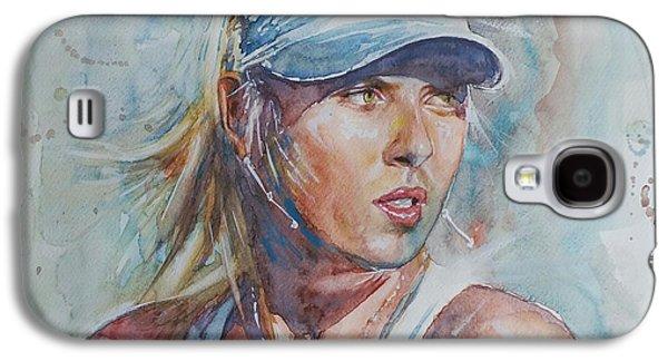Maria Sharapova - Portrait 1 Galaxy S4 Case