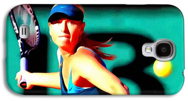 Maria Sharapova Tennis Galaxy S4 Case by Lanjee Chee