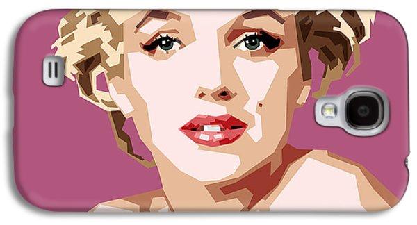 Marilyn Galaxy S4 Case by Douglas Simonson
