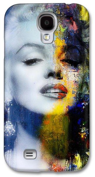 Marilyn Monroe Galaxy S4 Case - Marilyn by Mal Bray