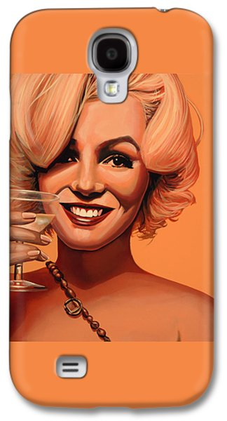 Marilyn Monroe 5 Galaxy S4 Case by Paul Meijering
