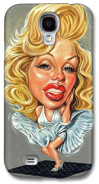 Marilyn Monroe Galaxy S4 Case by Art