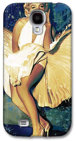 Marilyn Monroe Artwork 4 Galaxy S4 Case by Sheraz A