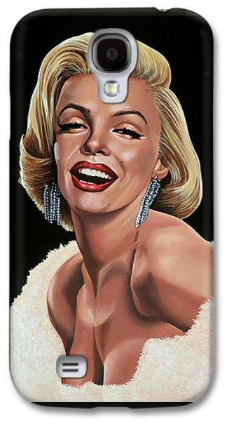 Marilyn Monroe Galaxy S4 Case by Paul Meijering