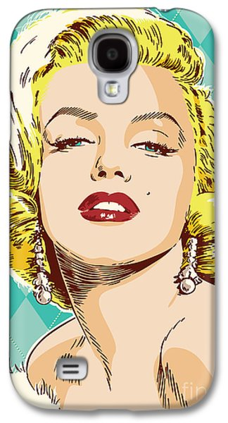 Marilyn Monroe Pop Art Galaxy S4 Case by Jim Zahniser