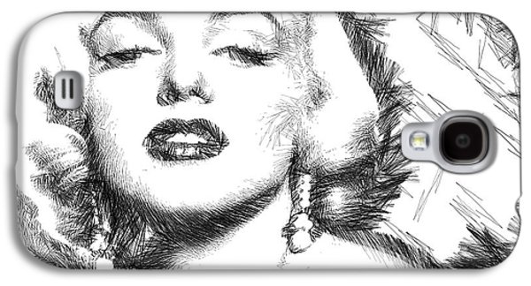 Marilyn Monroe - The One And Only  Galaxy S4 Case