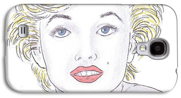Marilyn Galaxy S4 Case by Steven White