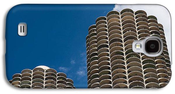 Marina City Morning Galaxy S4 Case by Steve Gadomski