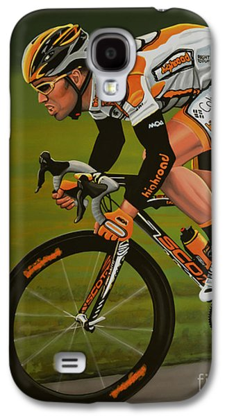 Mark Cavendish Galaxy S4 Case by Paul Meijering