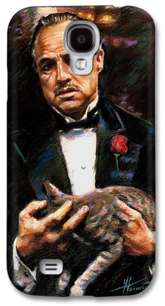 Marlon Brando The Godfather Galaxy S4 Case
