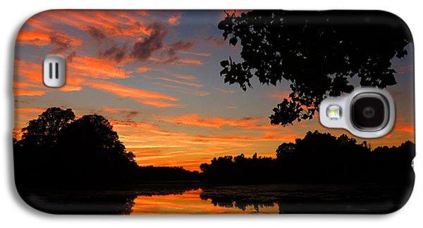 Marlu Lake At Sunset Galaxy S4 Case