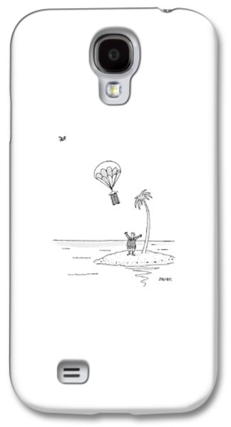 Marooned On An Island Galaxy S4 Case