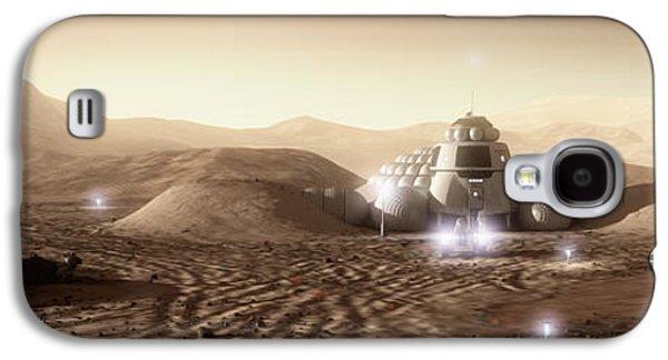Mars Habitat - Valley End Galaxy S4 Case by Bryan Versteeg