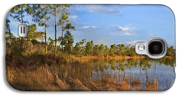Marsh And Trees Saint George Isl Florida Galaxy S4 Case by Tim Fitzharris