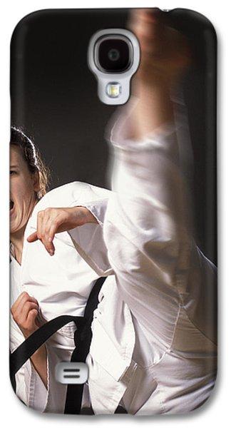 Martial Arts Kick Galaxy S4 Case by Don Hammond