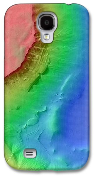 Martian Gullies Galaxy S4 Case