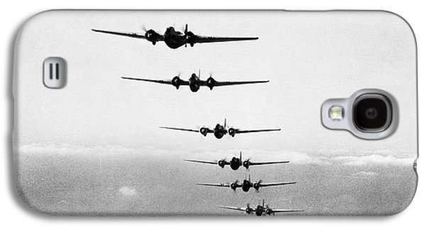Martin B-10s In Formation Galaxy S4 Case by Underwood Archives