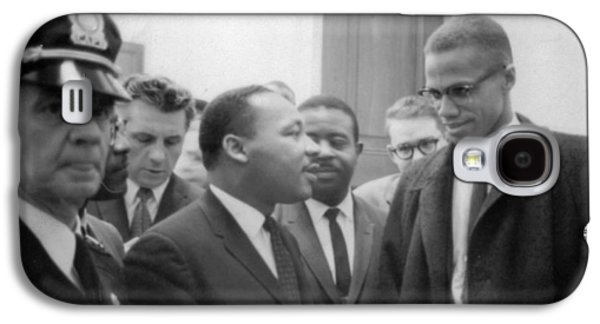 Martin Luther King Jnr 1929-1968 And Malcolm X Malcolm Little - 1925-1965 Galaxy S4 Case