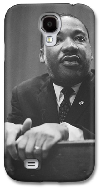 Martin Luther King Press Conference 1964 Galaxy S4 Case by Anonymous