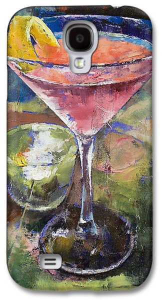 Martini Galaxy S4 Case by Michael Creese
