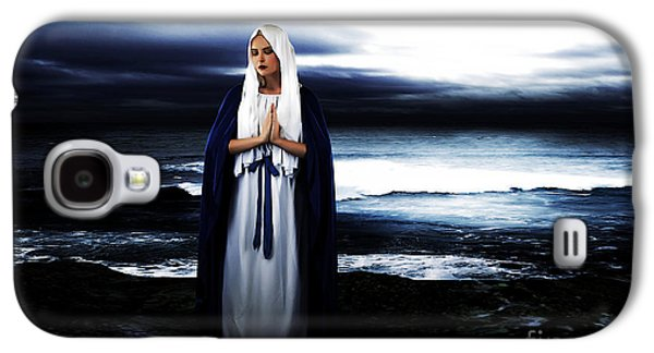 Mary By The Sea Galaxy S4 Case by Cinema Photography