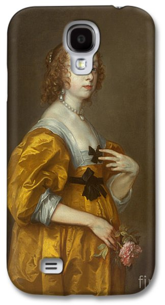 Mary Villiers Lady Herbert Of Shurland Galaxy S4 Case by Anthony van Dyck