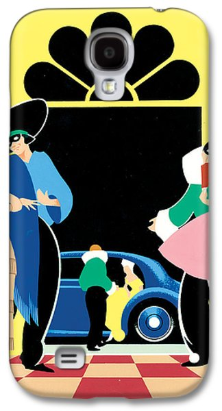 Masked Ball Galaxy S4 Case by Brian James