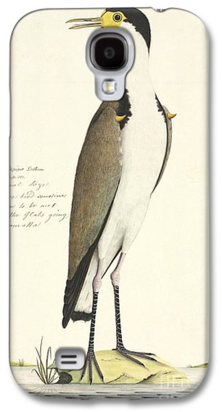 Masked Lapwing, 18th Century Galaxy S4 Case by Natural History Museum, London
