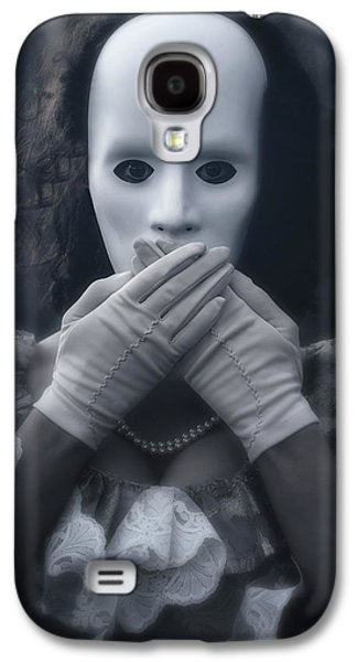 Masked Woman Galaxy S4 Case by Joana Kruse