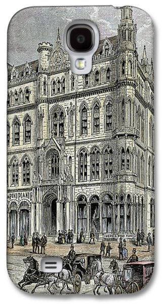Masonic Temple Opened In 1867 Galaxy S4 Case by Prisma Archivo