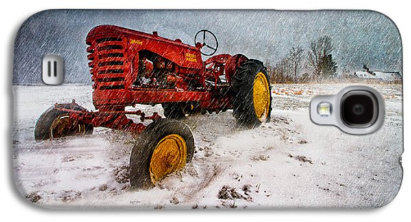 Massey Harris Mustang Galaxy S4 Case by Bob Orsillo