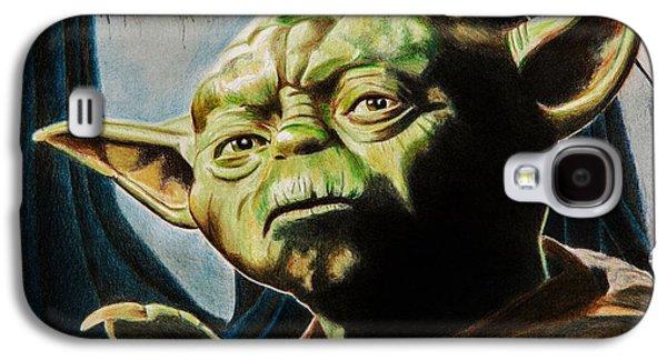 Master Yoda Galaxy S4 Case by Brian Broadway