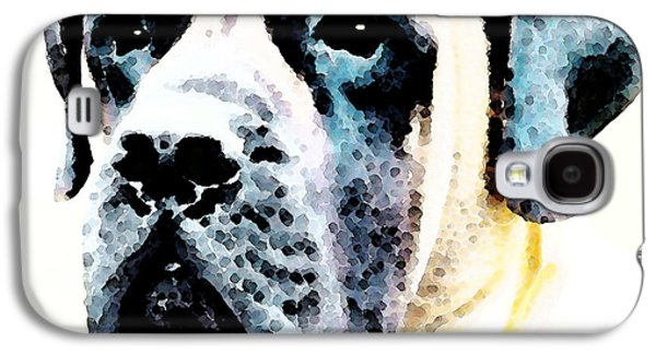 Mastif Dog Art - Misunderstood Galaxy S4 Case by Sharon Cummings