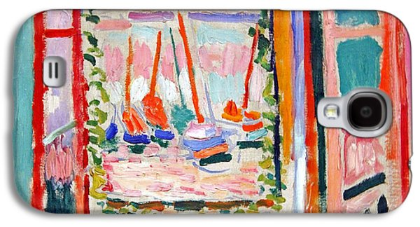 Matisse's Open Window At Collioure Galaxy S4 Case by Cora Wandel
