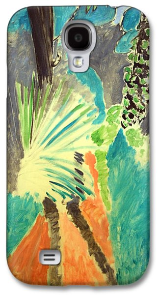 Matisse's Palm Leaf In Tangier Galaxy S4 Case by Cora Wandel