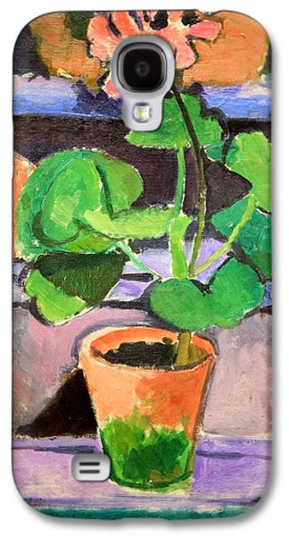 Matisse's Pot Of Geraniums Galaxy S4 Case by Cora Wandel