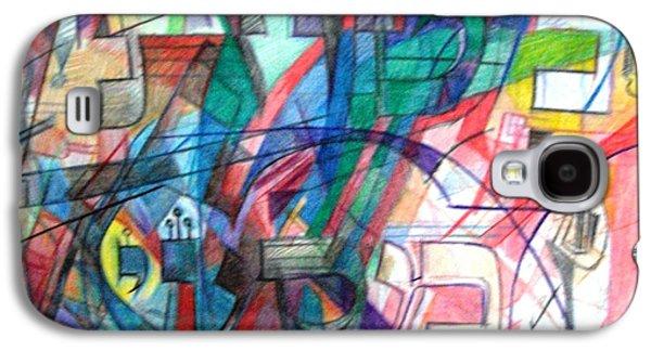Matot And Masaai Galaxy S4 Case by David Baruch Wolk