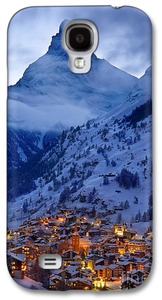 Matterhorn At Twilight Galaxy S4 Case by Brian Jannsen