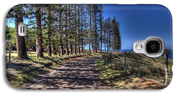 Maui Back Roads Galaxy S4 Case