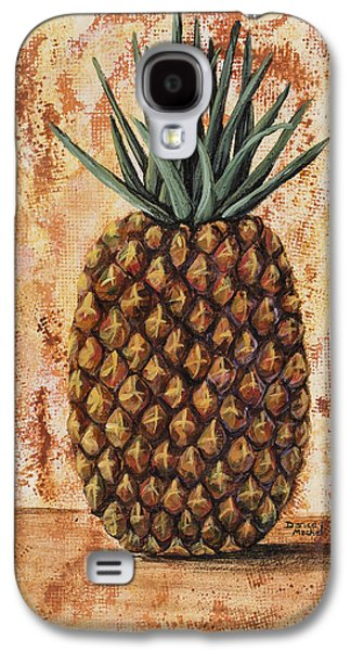 Maui Pineapple Galaxy S4 Case by Darice Machel McGuire