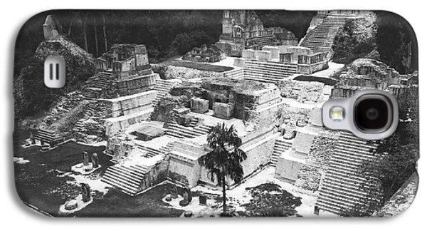 Mayan Ruins At Tikal Galaxy S4 Case