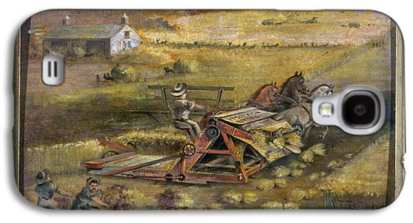Mccormick Reaper, 1884 Galaxy S4 Case by Granger