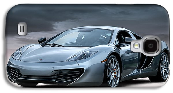 Mclaren Mp4 12c Galaxy S4 Case by Douglas Pittman
