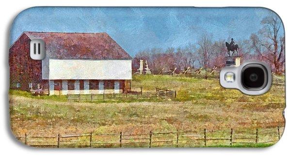 Mcpherson's Barn At Gettysburg National Military Park Galaxy S4 Case