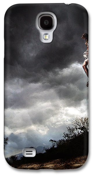 Me And Jesus Galaxy S4 Case by Mark Spears