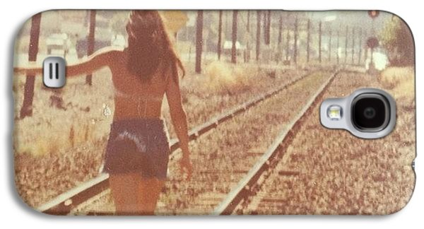 Summer Galaxy S4 Case - Me Back In The 70s When Livin' Was by Blenda Studio