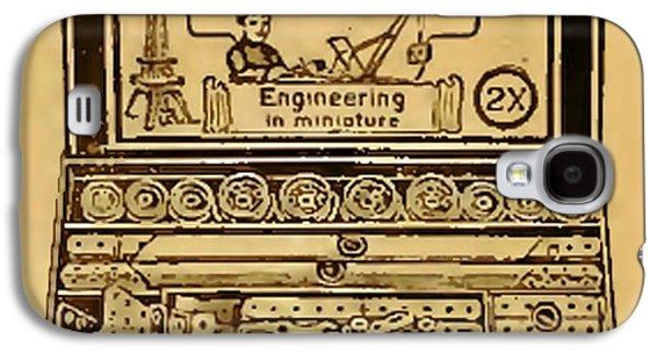 Meccano Steampunk Engineering Galaxy S4 Case
