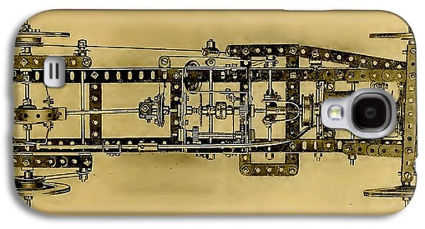 Meccano Steampunk Motorcar Galaxy S4 Case
