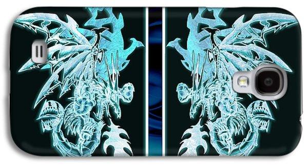 Mech Dragons Diamond Ice Crystals Galaxy S4 Case